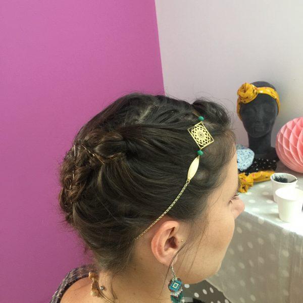 Atelier coiffure headband Les crea de Marie