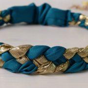 headband-createur-bleu-canard-et-or-les-crea-de-marie