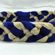 headband-tresse-bleu-et-beige-paillettes-les-crea-de-marie
