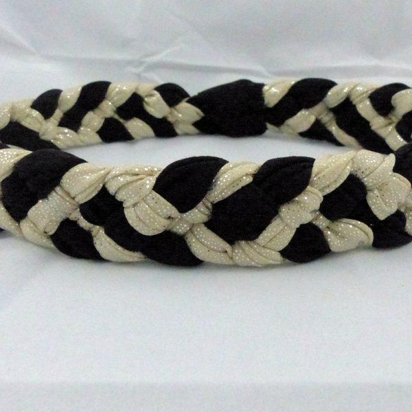 headband-tresse-noir-et-beige-paillettes-les-crea-de-marie