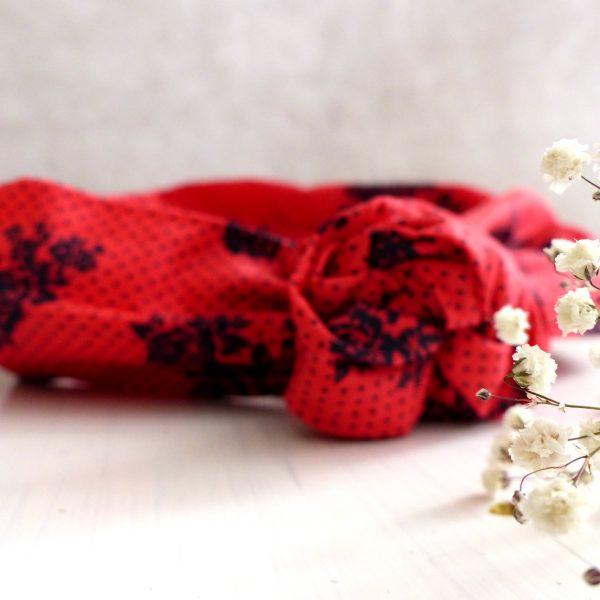 Headband fil de fer Les Crea de Marie Collection Giulietta rouge et noir
